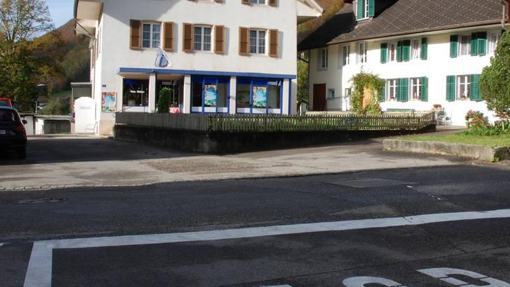 Stopp – nicht als Zwischenhalt, sondern endgültig heisst es für den Maxi-Laden in Herbetswil. wak
