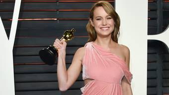 Wird sich nun damit anfreunden müssen, im Rampenlicht zu stehen: Die frischgebackene Oscarpreisträgerin Brie Larson.