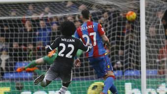 Der Brasilianer Willian entschied die Partie zwischen Crystal Palace und Chelsea mit dem 2:0 vorzeitig