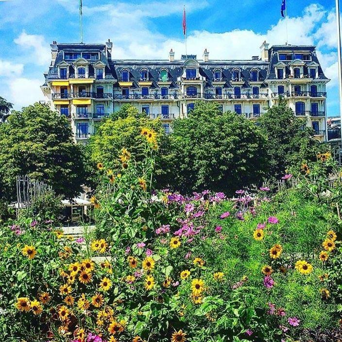 Das Beau-Rivage Palace wurde zum besten Stadthotel der Schweiz gewählt. (© Instagram/Beau-Rivage Palace)