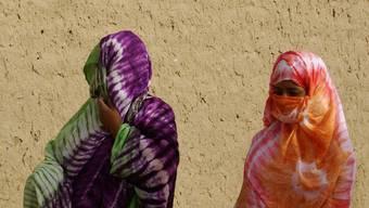 Zwei verschleierte Frauen in Mali: So schreiben es die Islamisten vor (Symbolbild)