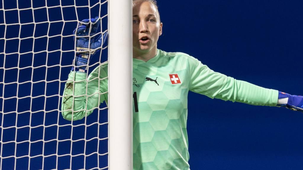 Gaëlle Thalmann und ihre Teamkolleginnen des Schweizer Nationalteams müssen den Weg über die EM-Playoffs nehmen