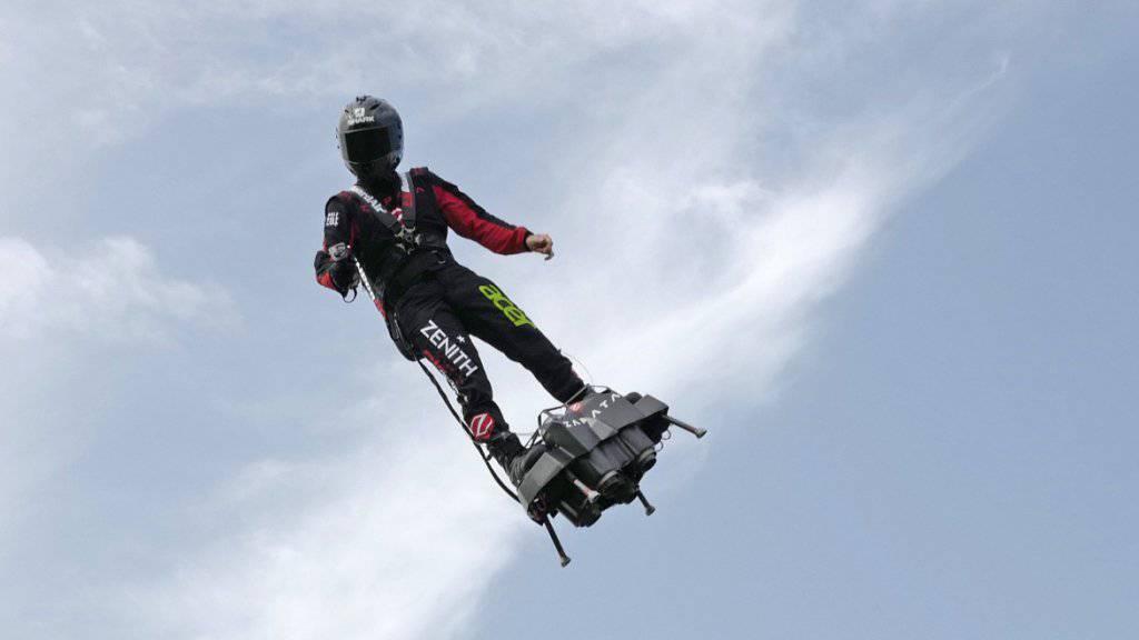 «Fliegender Mann» versucht Ärmelkanal-Überquerung