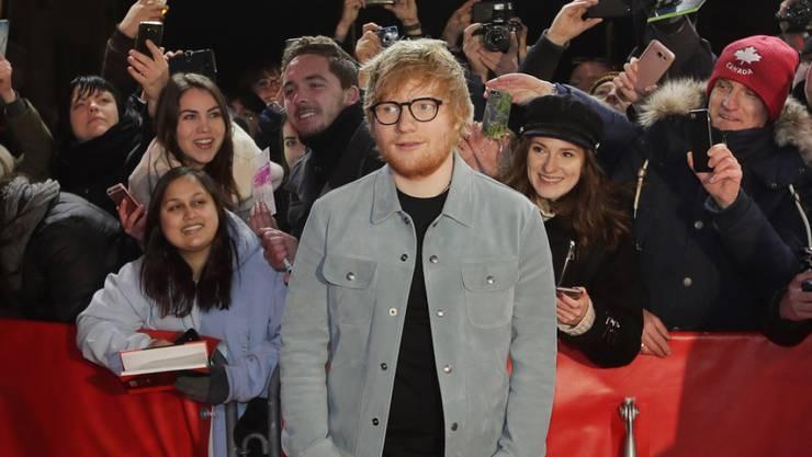 Singer-songwriter Ed Sheeran hat an der Berlinale 2018 Gefallen am Filmgeschäft gefunden.