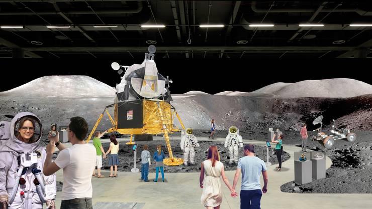 2019, im 50. Jubiläumsjahr der Mondlandung von Apollo 11, findet in Basel die grösste Ausstellung über Raumfahrt und Weltraumforschung statt, die je in der Schweiz gezeigt wurde.
