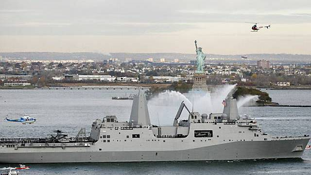 "US-Kriegsschiff ""USS New York"""