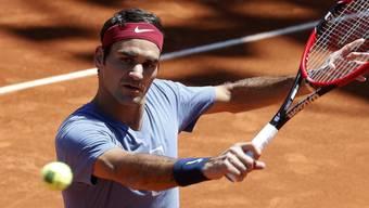 Roger Federer wird in Rom gegen den 19-jährigen Deutschen Alexander Zverev ins Turnier starten