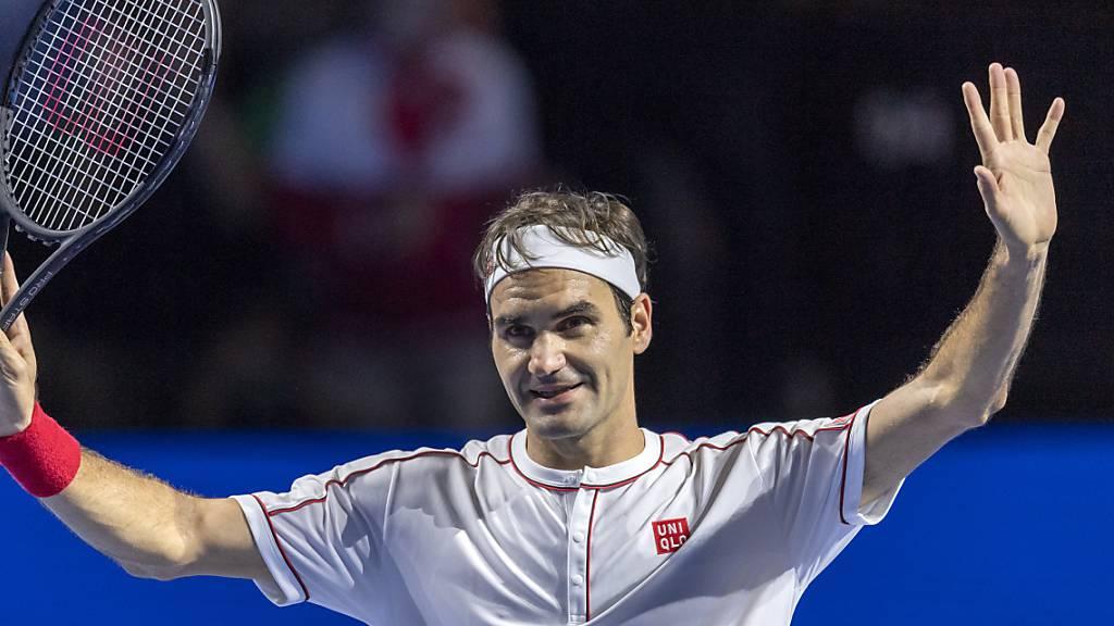 In Basel immer überzeugend: Roger Federer würde sich über einen Viertelfinal gegen Stan Wawrinka freuen
