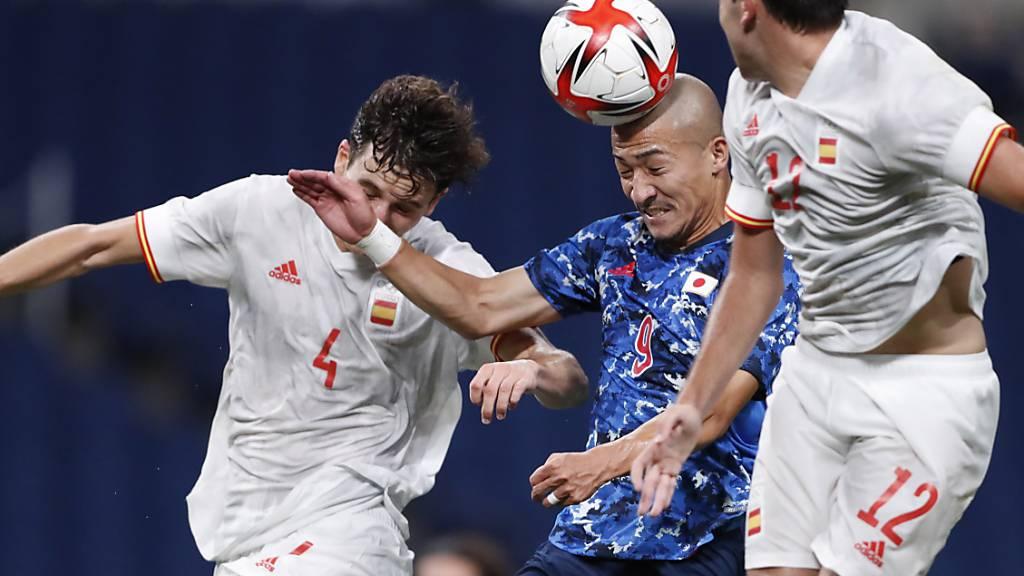 Spanien gewinnt gegen Gastgeber Japan und macht damit den Traumfinal gegen Brasilien klar