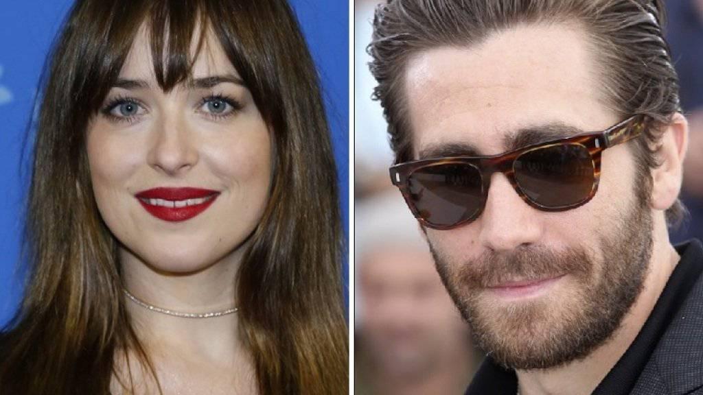 Sollen alte Liebe neu aufgefrischt haben: Dakota Johnson und Jake Gyllenhaal (Archiv)