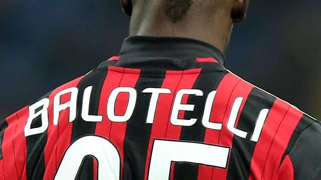 Mario Balotelli avancierte zum Matchwinner für die AC Milan
