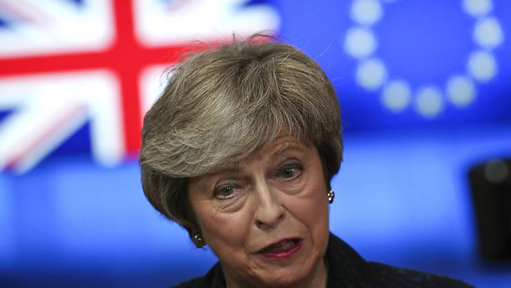 Premierministerin Theresa May hat sich am Dienstag im britischen Unterhaus zu den Brexit-Verhandlungen geäussert. (Archiv)