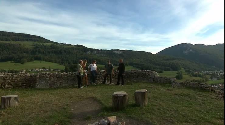 Balsthal - Auf der Ruine Neu Falkenstein