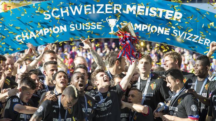 Wie in den vergangenen sechs Saisons: Bald kann der FC Basel wieder den Titel feiern
