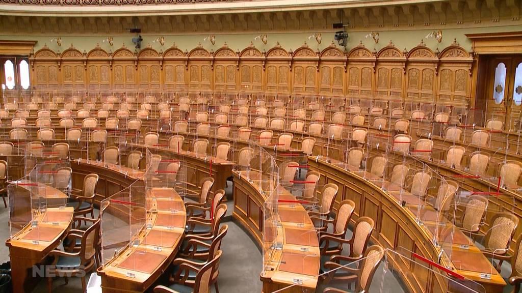 Herbst-Session findet wieder im Bundeshaus statt