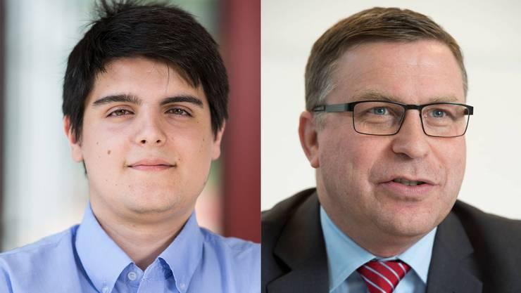 Sandro Wächter und Martin Keller
