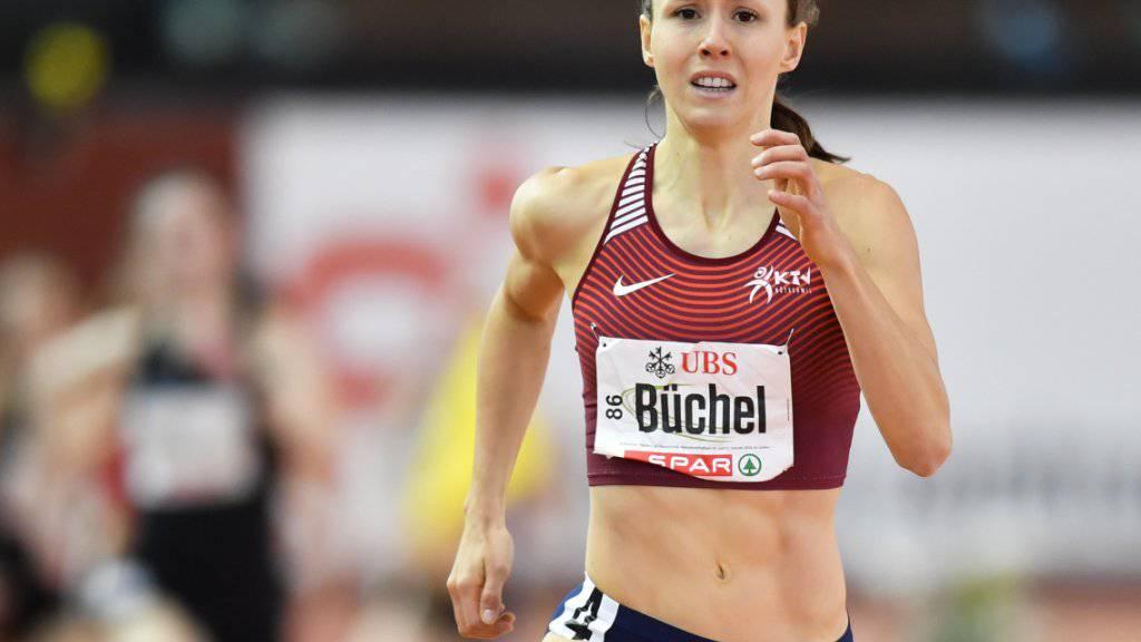 Selina Büchel läuft in Prag über 800 m aufs Podest