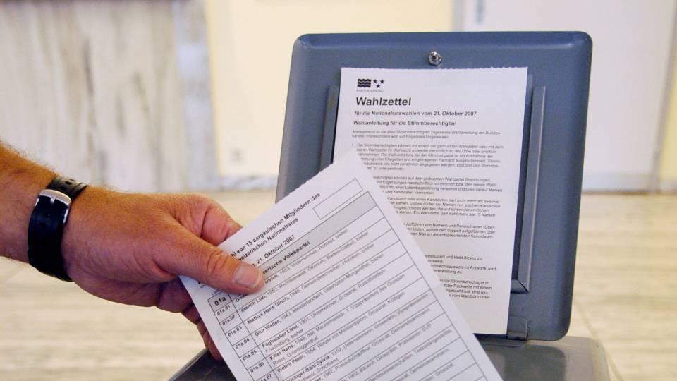 Das Prozedere erklärt: Diese Anleitung macht die Aargauer Wahlen leicht verständlich