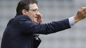 Biels Trainer Zlatko Petricevic verfügt nicht über die erforderliche Lizenz, um offiziell als Chefcoach bei einem Klub der Challenge League zu wirken