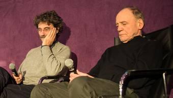 Silvio Soldini und Bruno Ganz.