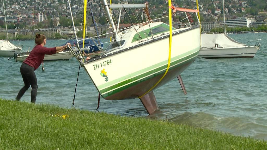 Grosse Schäden nach Föhnsturm im Zürcher Seebecken