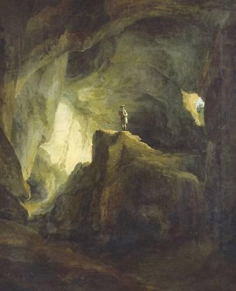 Ein wichtiges Werk der Epoche: «Die Bärenhöhle von Welschenrohr» von C. Wolf.