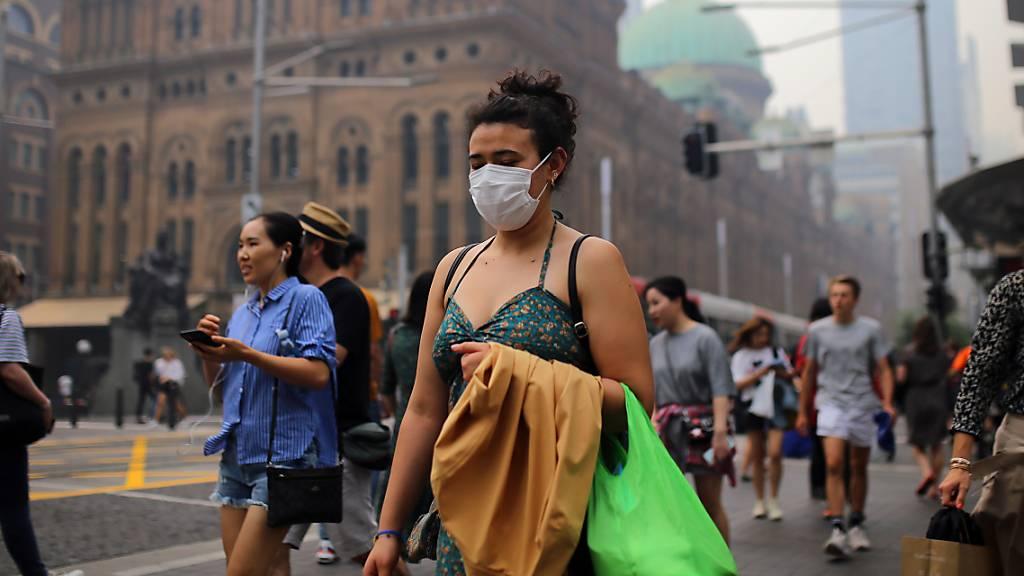 Zehntausende fordern in Sydney Klimaschutzmassnahmen
