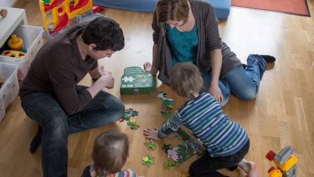 Verbringt viel gemeinsame Zeit: Familie Matter. Foto: Mathias Marx