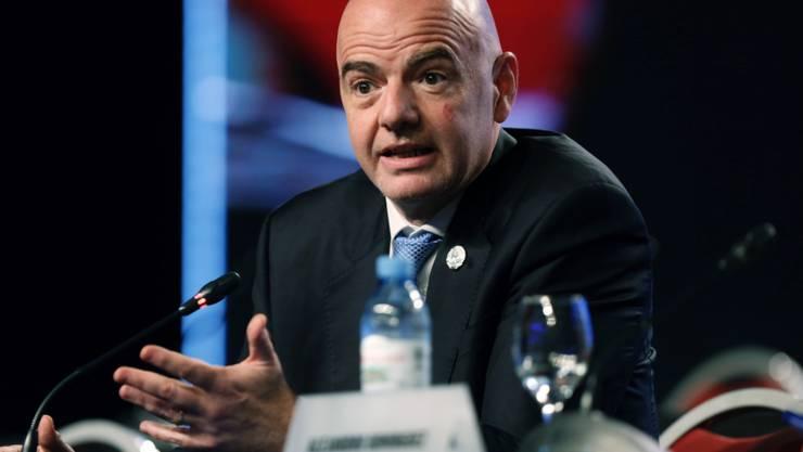 FIFA-Präsident Gianni Infantino plant eine Arbeitsgruppe für die Klub-WM