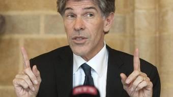 Der bisherige Neuenburger Staatsrat Philippe Gnaegi (Archiv)