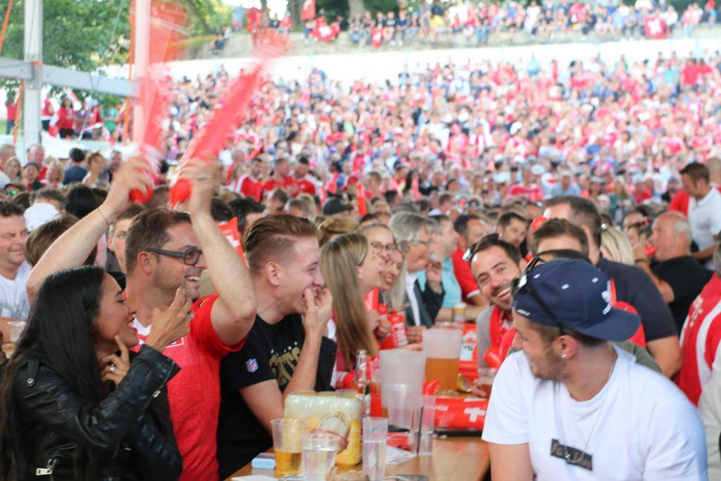 Public Viewing in Arbon (© FM1Today/NinaMüller)