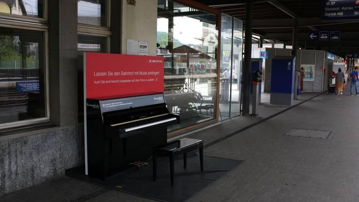 Das Piano am Bahnhof Liestal
