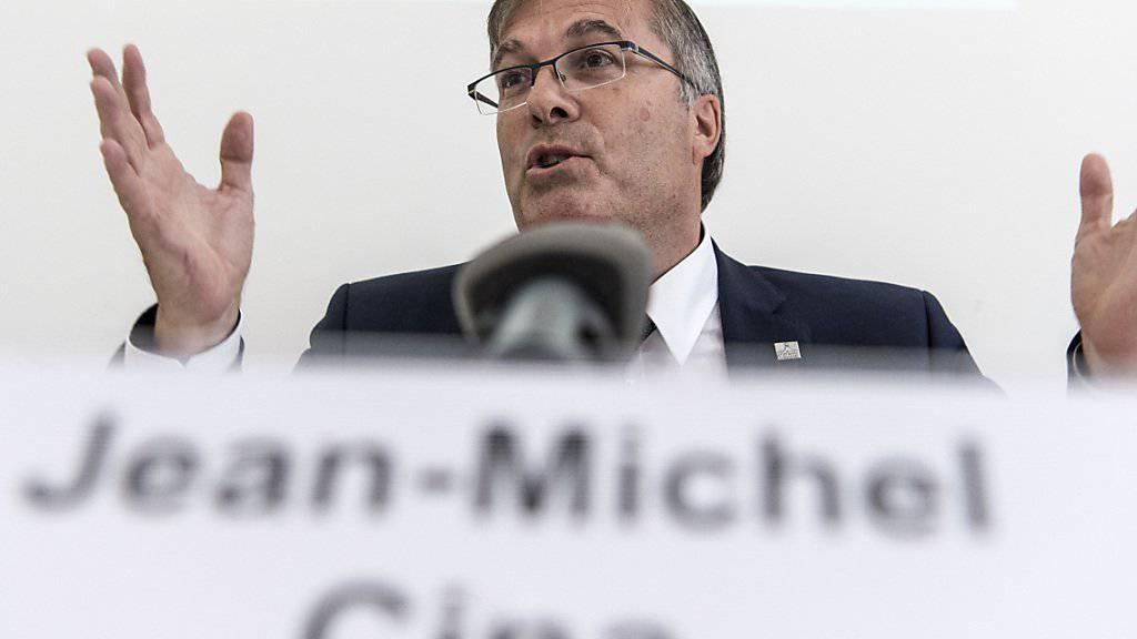 Die Kantone haben sich beim Finanzausgleich auf einen Kompromissvorschlag geeinigt. Die Vorschläge schickt der Präsident der Konferenz der Kantonsregierungen (KdK), Jean-Michel Cina, nun an den Bundesrat. (Archivbild)