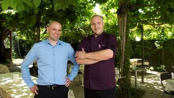Neue Pächter: Roland Bhend (links) und Patrick Troxler.