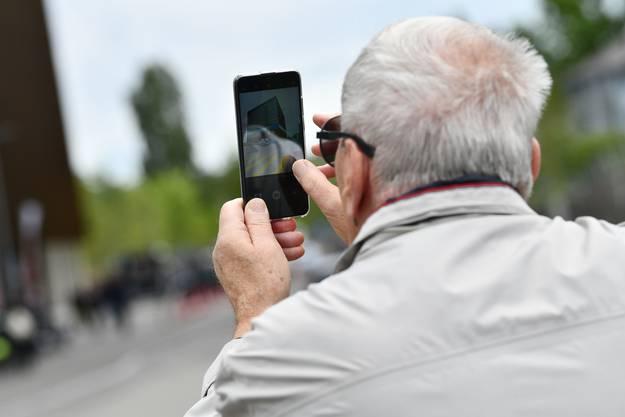 Schnappschuss: Dank Smartphone ein Andenken.
