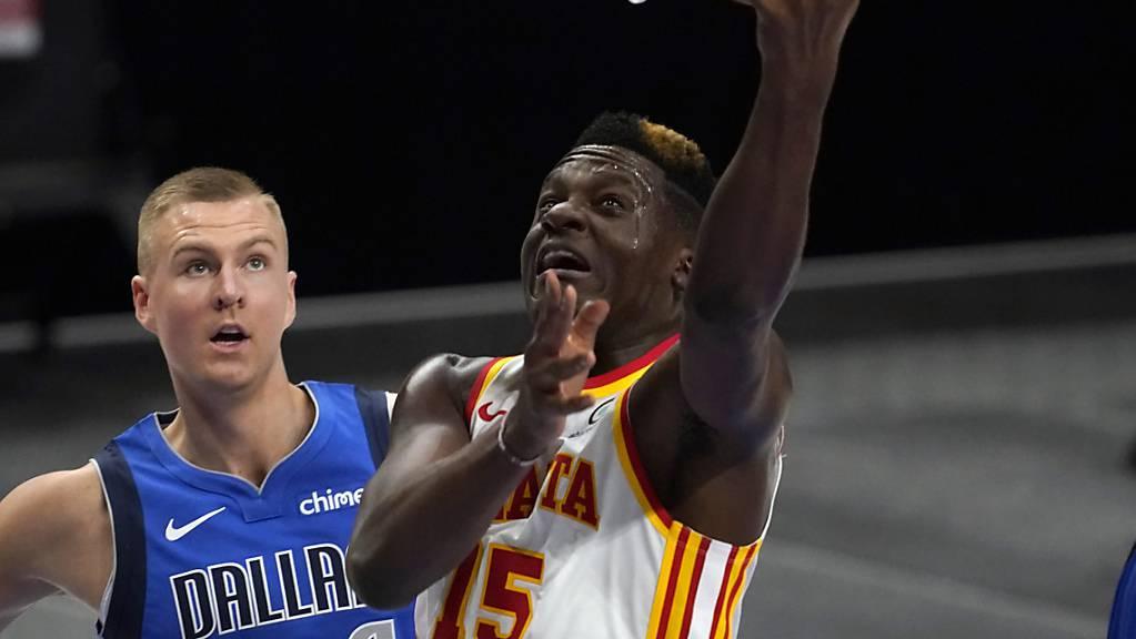 Clint Capela konnte gegen die Dallas Mavericks für einmal nicht überzeugen.