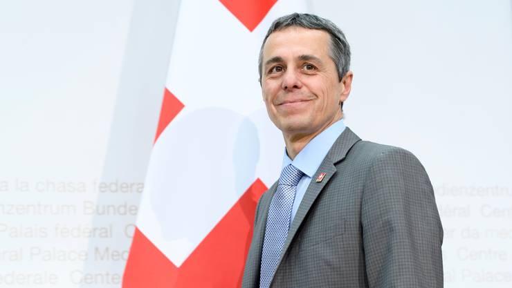 """""""Die Sprachen sind die DNA der Schweiz"""", so Bundesrat Ignazio Cassis."""