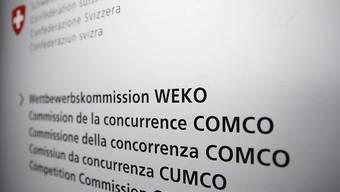 Die Wettbewerbskommission verdächtigt verschiedene Pharmafirmen, den Markt untereinander aufgeteilt zu haben. (Archivbild)