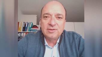 Interview aus dem Home Office: So erlebt Landammann Markus Dieth den Kampf gegen das Coronavirus.
