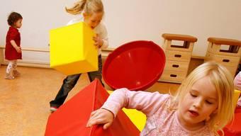 Immer mehr Basler Kinder werden in Kitas betreut (Symbolbild).