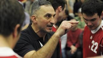 Der Trainer der Schweizer Handball-Nati, Goran Perkovac