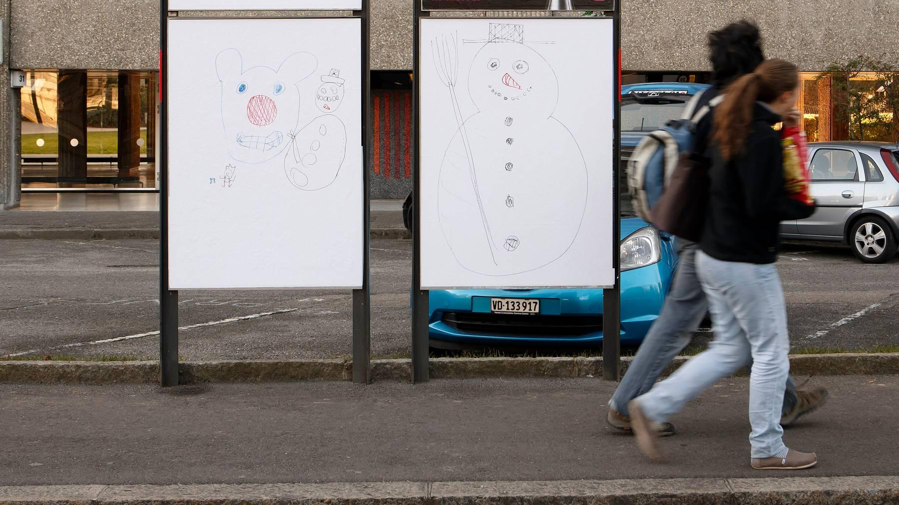 Kann ihren Anteil am Werbekuchen steigern: In Aussenwerbung wird in der Schweiz immer mehr investiert. (Symbolbild)
