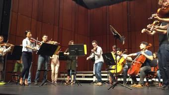 """Ein """"Jig"""" des Komponisten Gustav Holst, gespielt vom Sinfonieorchester Basel vom Samstag."""