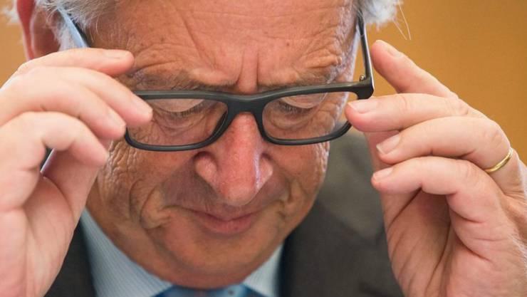 EU-Kommissionspräsident Jean-Claude Juncker. (Archiv)
