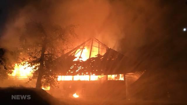 Unterstützung für Hausbrand-Opfer