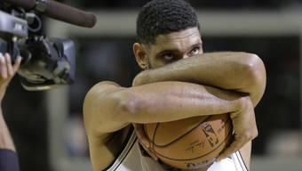 Nach 19 NBA-Saison mit den San Antonio Spurs beendet Tim Duncan (40) seine erfolgreiche Karriere