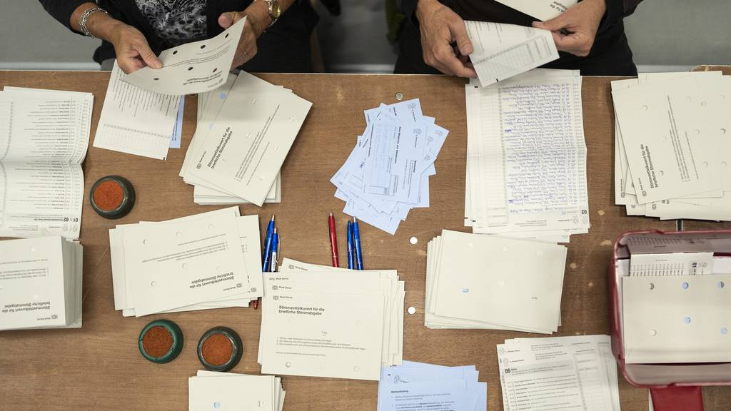 Unstimmigkeiten bei der Auszählung der Grossratswahlen im Thurgau