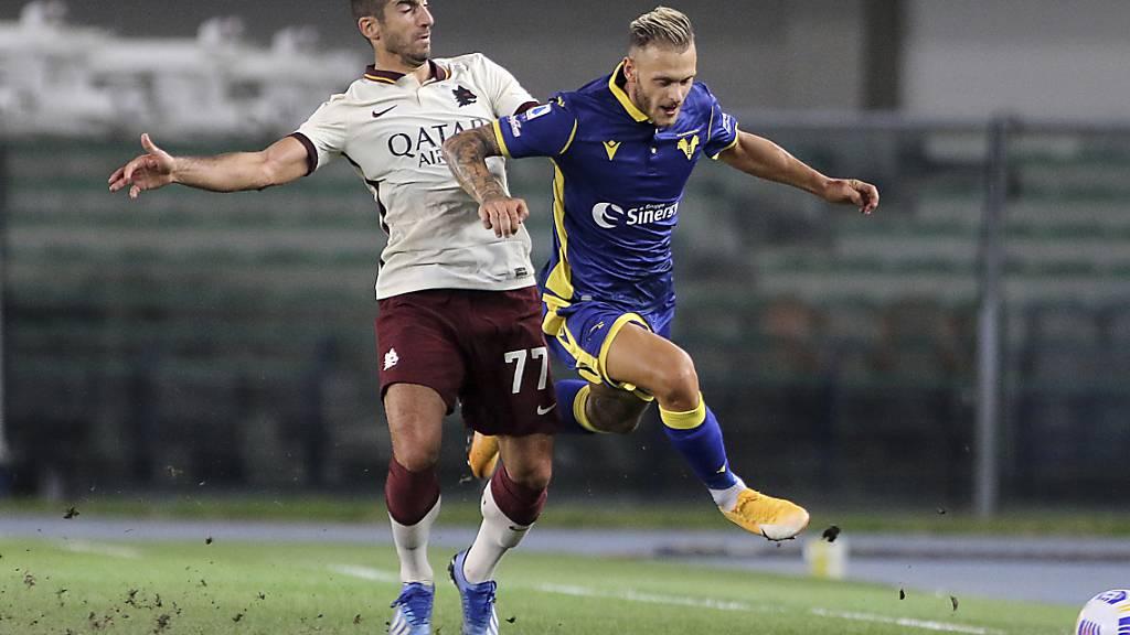 Hellas Verona und die AS Roma trennten sich zum Saisonauftakt torlos