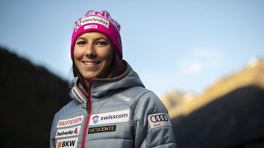 Wendy Holdener zwei Tage vor Saisonbeginn in Sölden