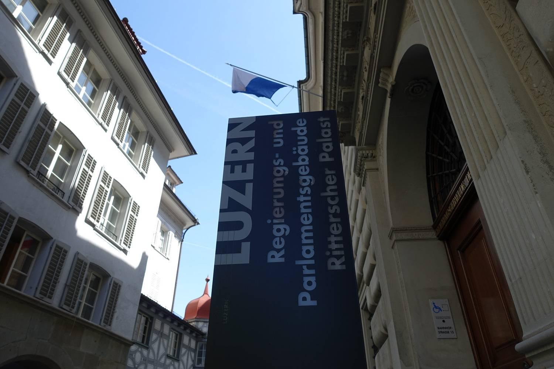 Das Luzerner Regierungs- und Parlamentsgebäude.